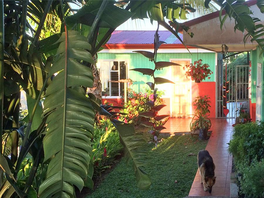 Casa Tranquilla in morning light