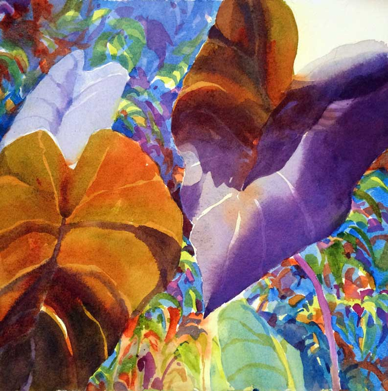 Heart Glow - watercolor, Jan Hart