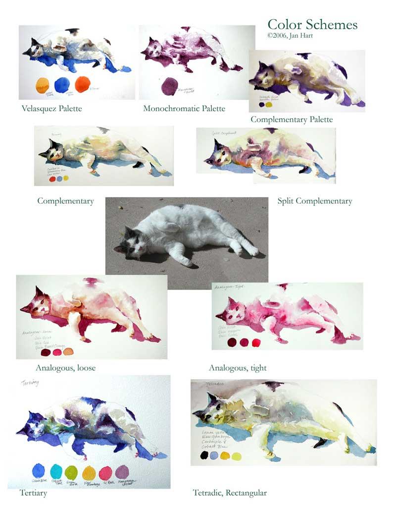 Jan's Color Cat Sheet